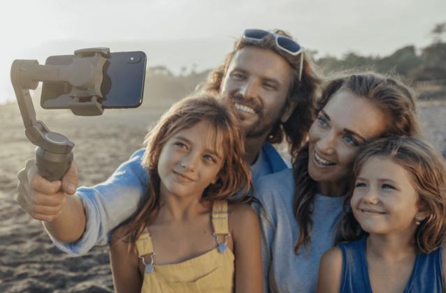 DJI Phone Gimbal for family