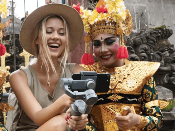 DJI Phone Gimbal for traveler