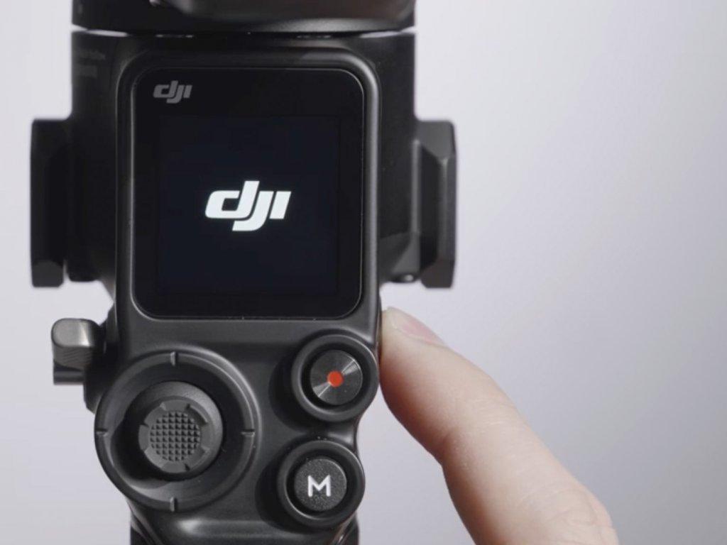 camera gimbal touchscreen