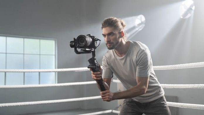 camera gimbal unboxing and review