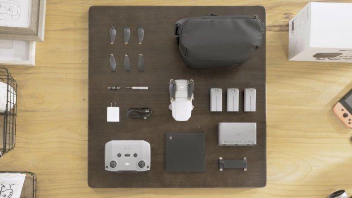 DJI Mini 2 drone Unboxing