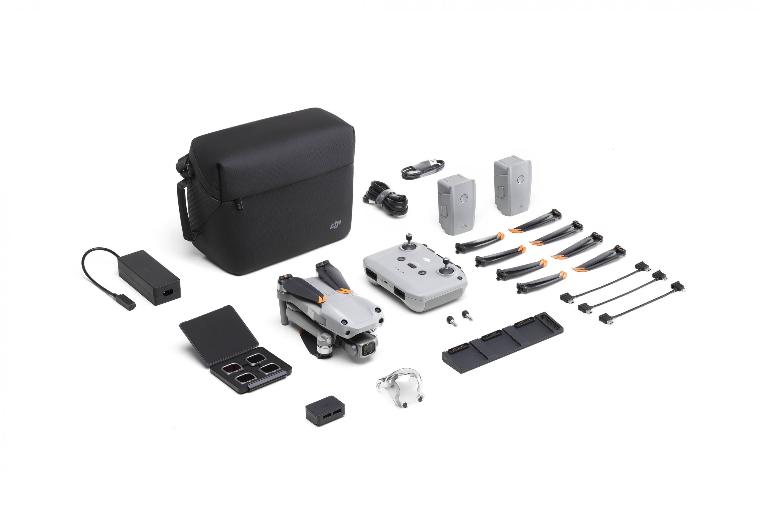 DJI AIR 2S Fly More Combo unboxing