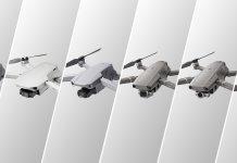 DJI Mavic camera drone series comparison