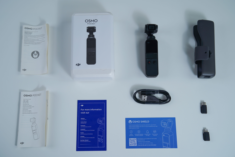 Packungsinhalt: Osmo Pocket