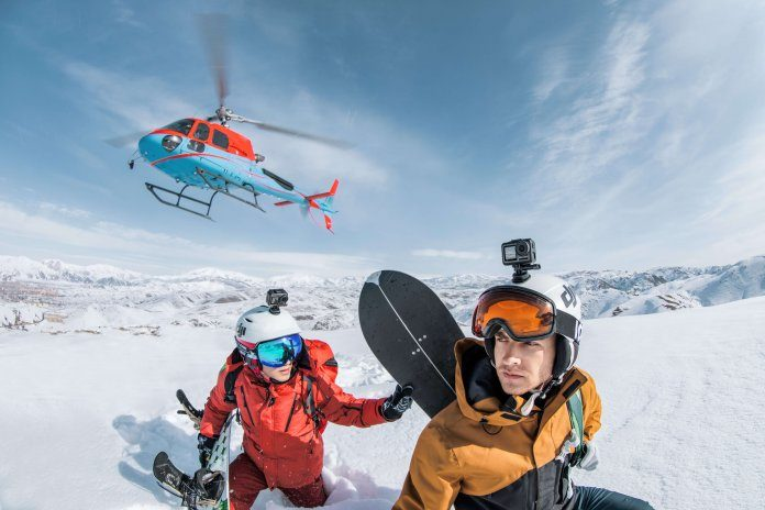 Osmo-Action-Snowboarding