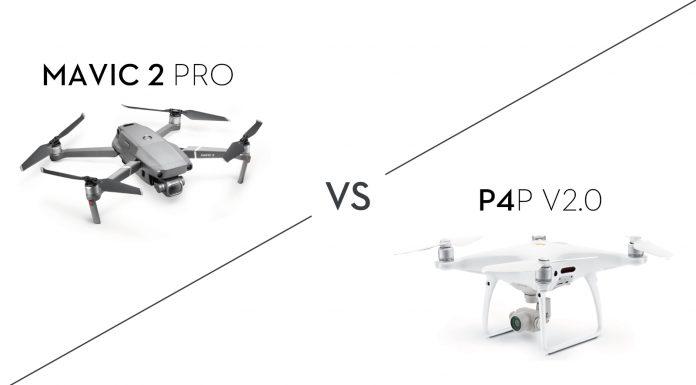 Mavic 2 Pro vs. P4P V2.0