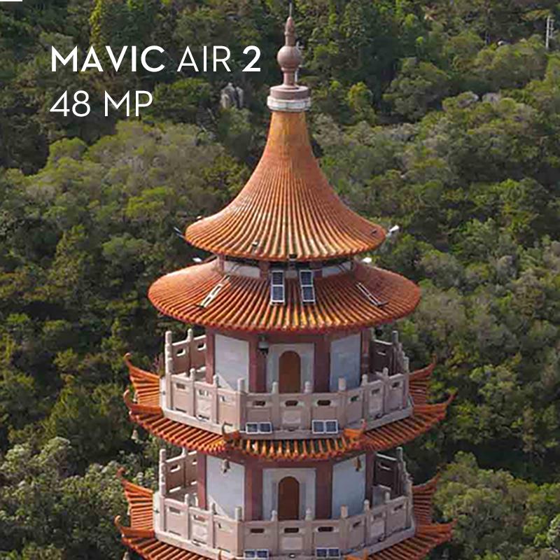 Mavic Air 2 48MP Zoom in