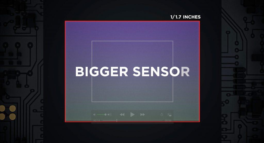 DJI Pocket 2 bigger sensor