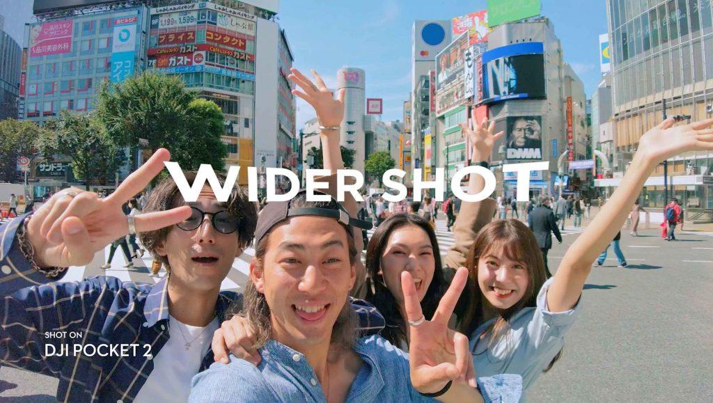 DJI Pocket 2 wider shots