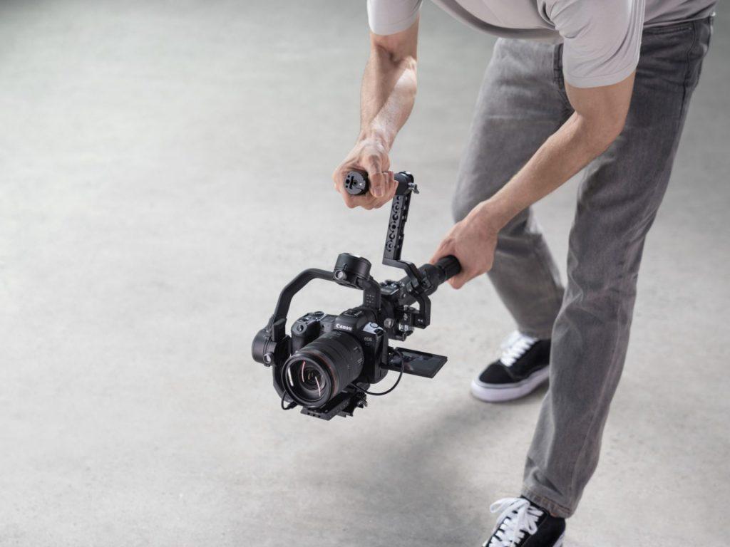 camera gimbal extended-grip