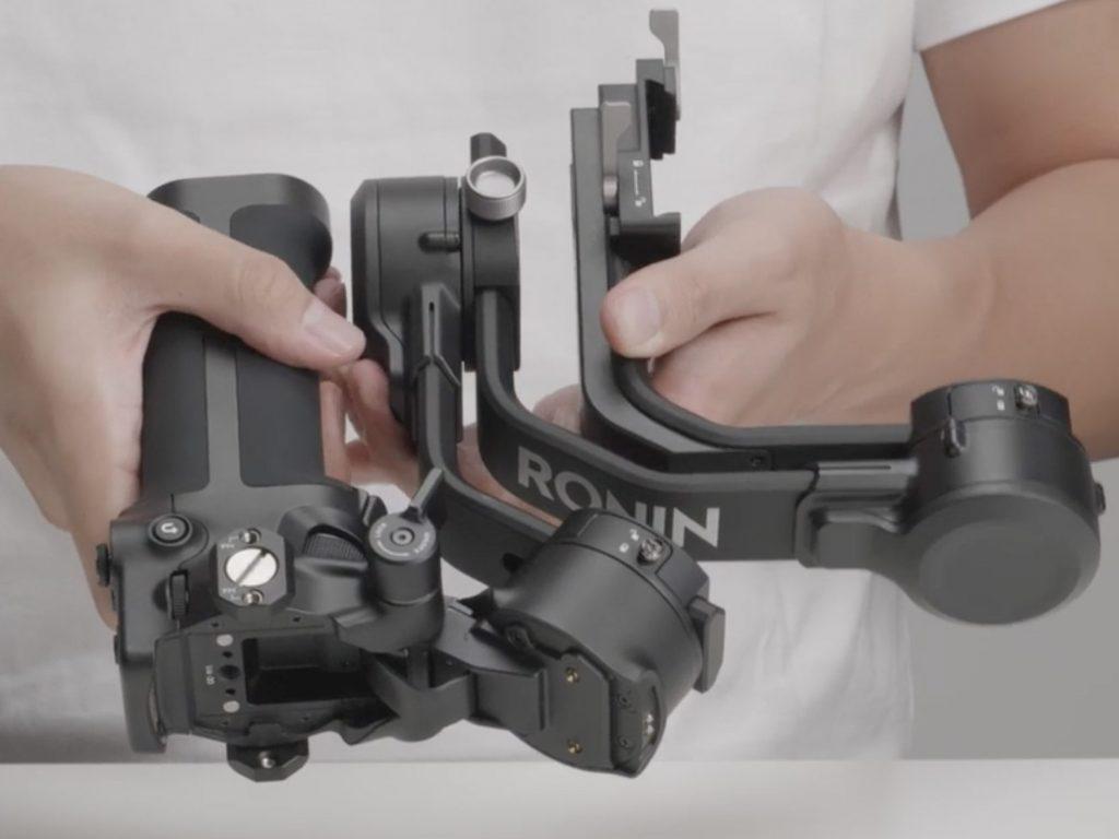 camera gimbal foldable