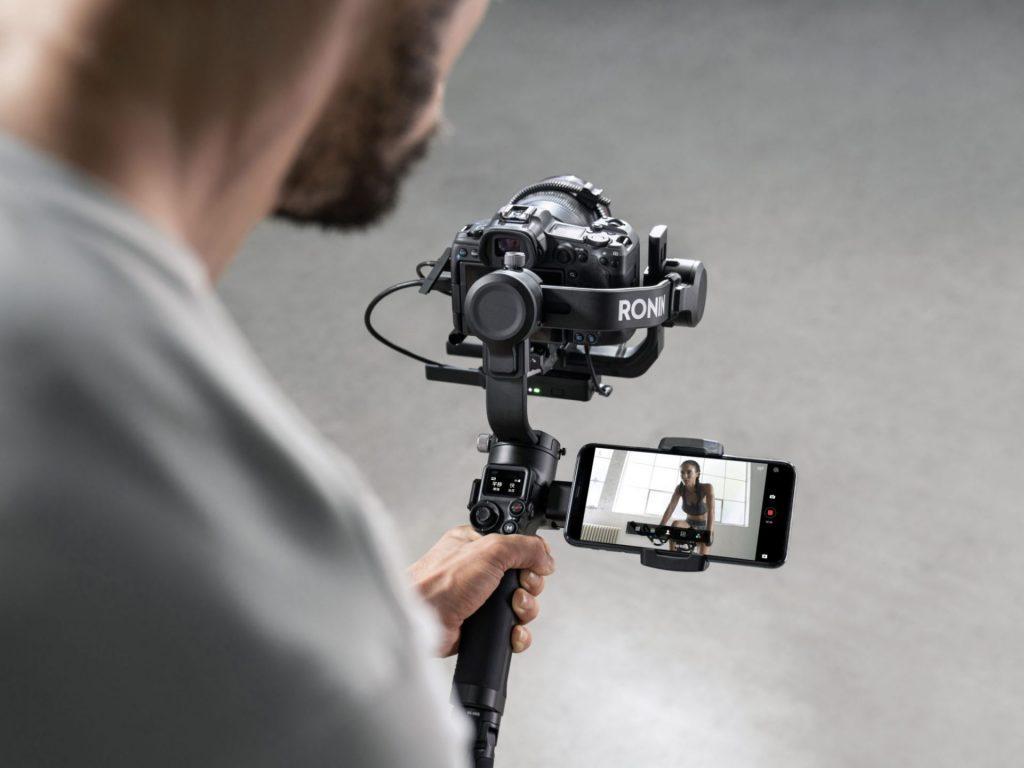 camera gimbal phone-holder