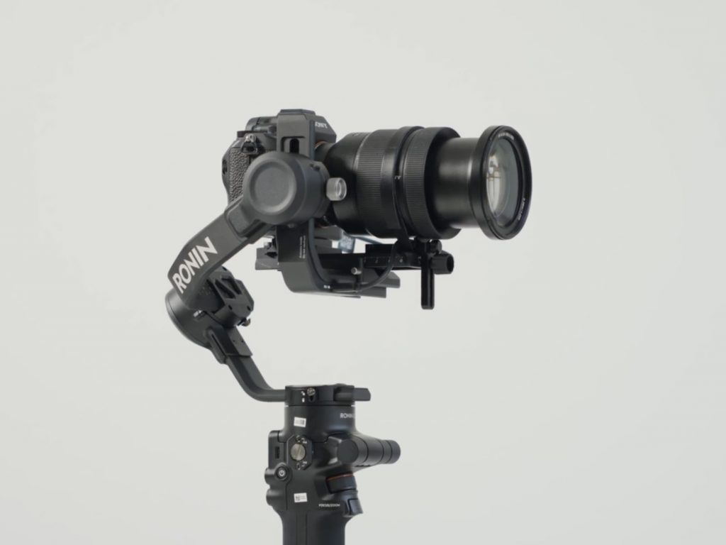 camera gimbal supported payload